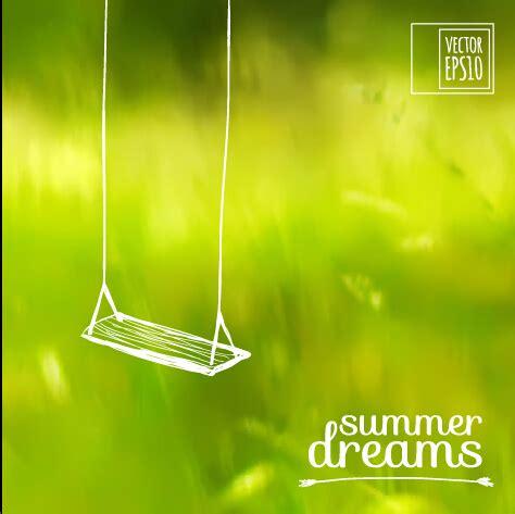 elegant summer dreams vector background art 02 free over