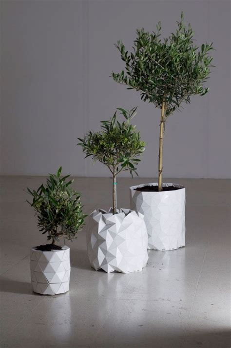 unique planters unique and modern planter that will grow with the plant