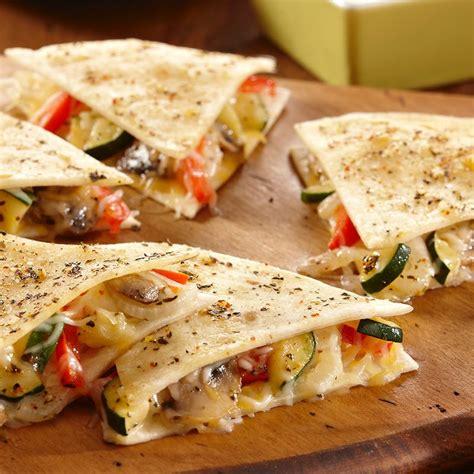 vegetables quesadilla recipe easy cheesy vegetable quesadillas mccormick