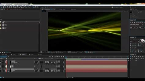tutorial after effect laser create a laser light show effect in after effects