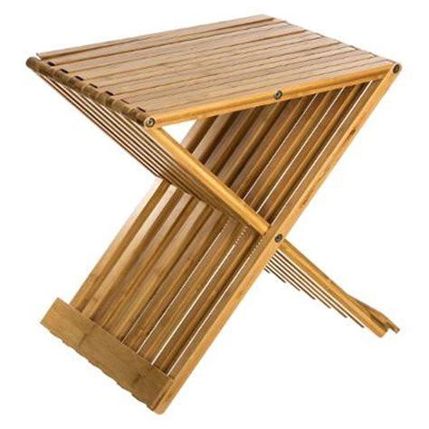 Tabouret 45 Cm by Tabouret Pliant Quot Bambou Quot 45cm Naturel