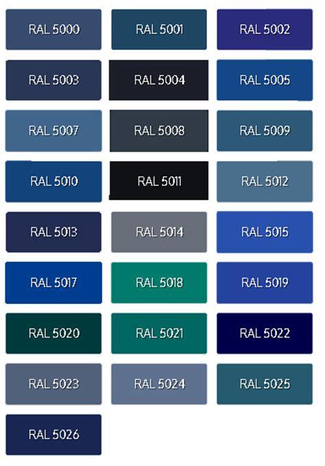 tavola colori ral cartella colori ral cpe srl
