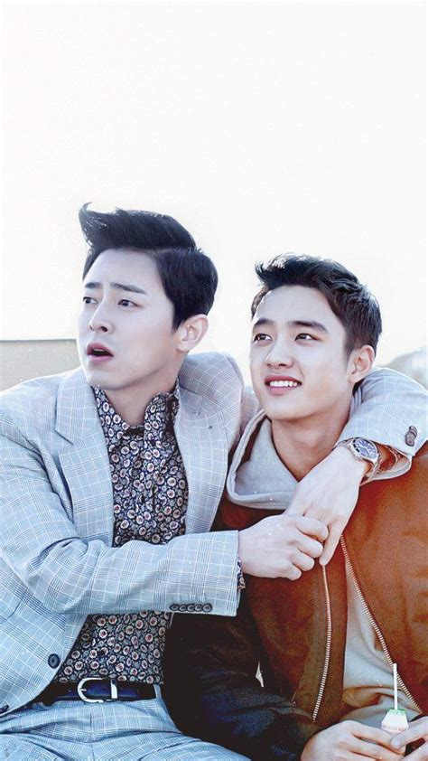 film do exo hyung exo s d o and actor jo jung suk reveal great chemistry in