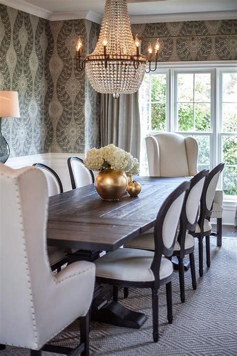 Design For Wingback Dining Room Chairs Ideas Best 25 Mixed Dining Chairs Ideas Only On Pinterest Mismatched Dining Room Mismatched Dining