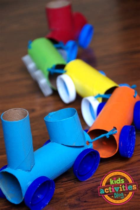 Paper Rolling Craft - toilet paper roll craft