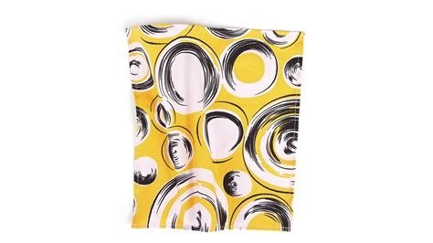 yellow pattern pocket square yellow pocket square with shapes pattern