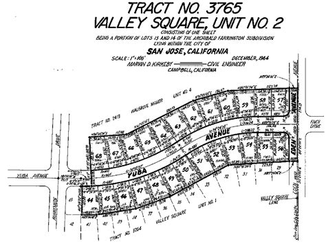 san jose tract map valley square 2