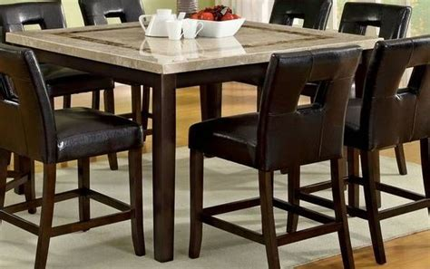 marble top counter height dining table counter height dining table with real marble top pub bar