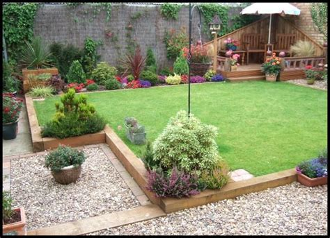 Wooden Sleepers Garden Edging by 116 Best Images About Garden Design Ideas Small Rear Garden On Gardens Raised