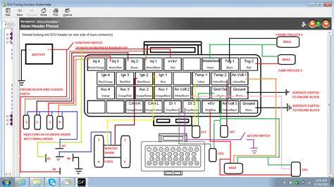 wiring link atom to honda obd1 g4 link engine management