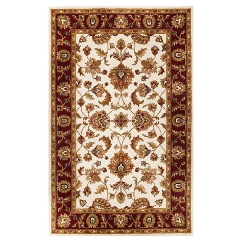 8x10 Area Rugs Lowes Shop Kas Rugs Classic Simplicity Rectangular Indoor Tufted Area Rug At Lowes