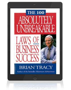 unbreakable laws of business credit books brian tracy s e book blowout save 30 50