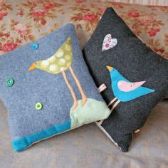 Handcrafted Cushions - sleeping like a log on decorative pillows