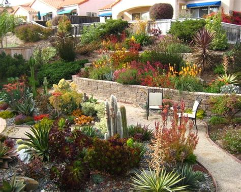 Gardens By Gabriel by By Gardens By Gabriel Tiered Drought Tolerant Pismo Landscape Wow So Much Vibrant Color