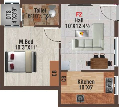 450 sq ft apartment 450 sq ft 1 bhk 1t apartment for sale in av constructions