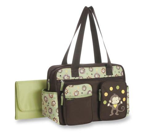 Baby Bag baby boom bag changing pad monkey