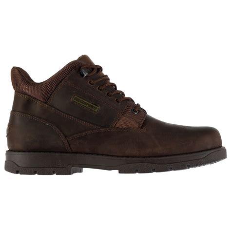 Plain Boots rockport mens plain boots adiprene xcs lace up leather