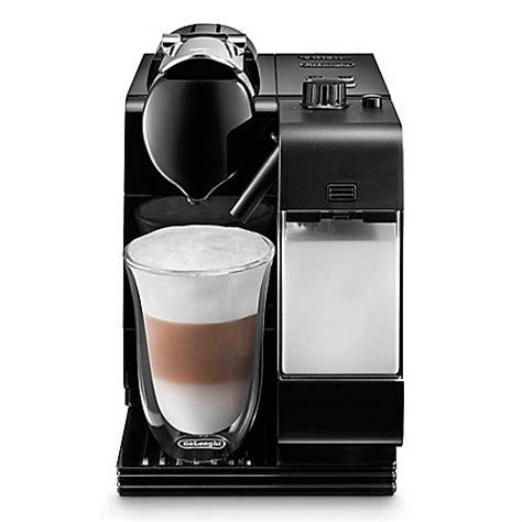 Nespresso Lattissima Plus Machine Black de longhi nespresso 174 lattissima plus espresso maker in black bed bath beyond