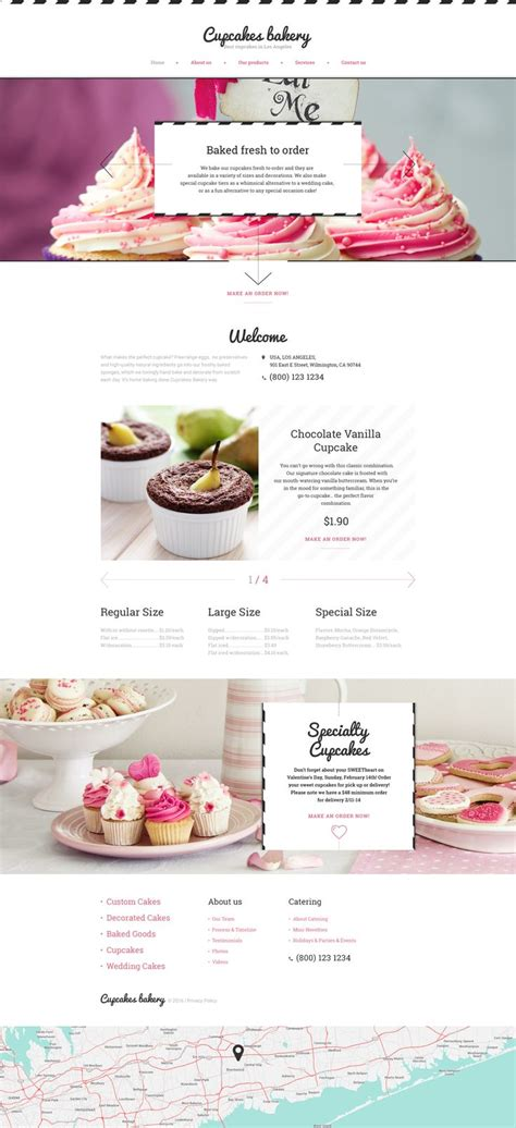 bootstrap themes bakery 25 best ideas about bakery website on pinterest food
