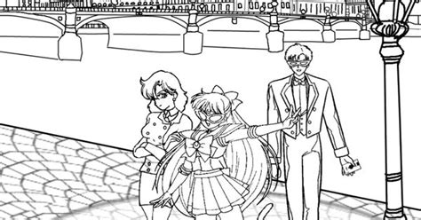 Sailor V Coloring Pages by Sailor V Sailor Moon Lineart Coloring Pages