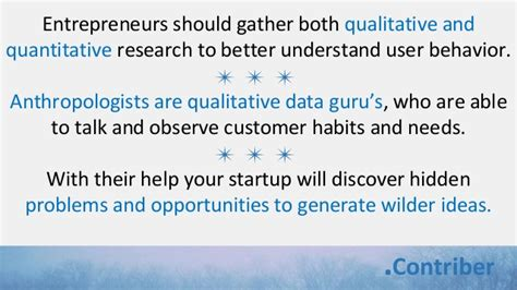generating themes qualitative research how anthropologists can help startups build better
