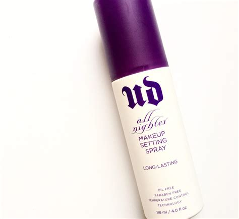 Decay All Nighter decay all nighter lasting make up setting spray