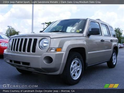 2009 Jeep Patriot Sport Light Sandstone Metallic 2009 Jeep Patriot Sport
