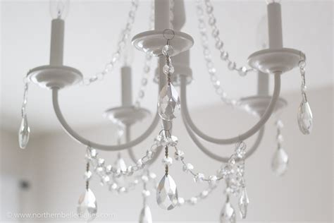 Diy Crystal Chandelier Easy Tutorial Make Chandelier