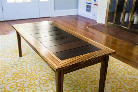 Zebra Wood Coffee Table Zebrawood Coffee Table Oe Custom