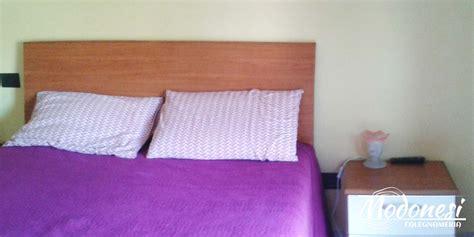 letto matrimoniale moderno in legno i letti su misura in legno di falegnameria modonesi