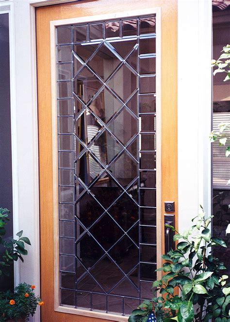 Beveled Lattice Door Glass Inserts Sans Soucie Leaded Glass Door Inserts