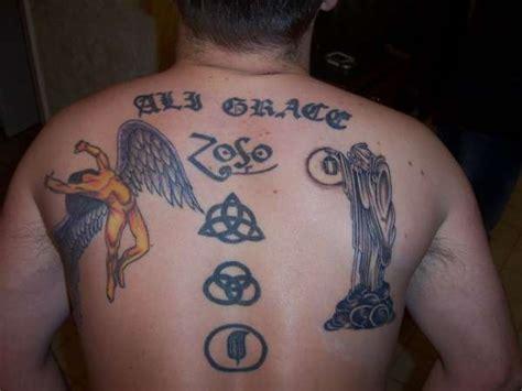 dragon tattoo led zeppelin zeppelin tattoo