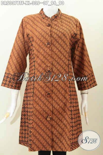 Baju Korpri Wanita Furing Size baju batik furing baut wanita dewasa dress batik klasik proses kombinasi tulis size xl