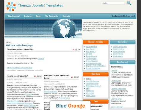 free joomla 1 5 x templates rise of technology by themza