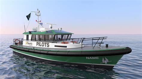 offshore fishing boat design all new electric pilot boat design by robert allan ltd