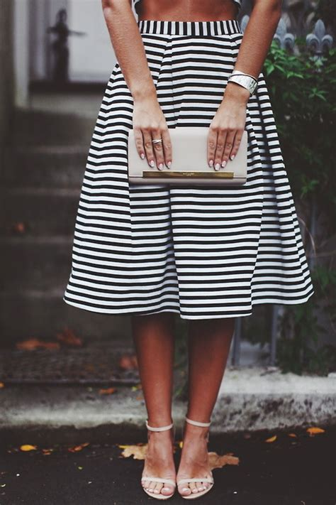 black and white striped skirt black and white striped skirt pictures photos and images