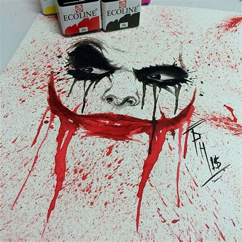 watercolor tattoo joker 25 best ideas about joker sketch on batman