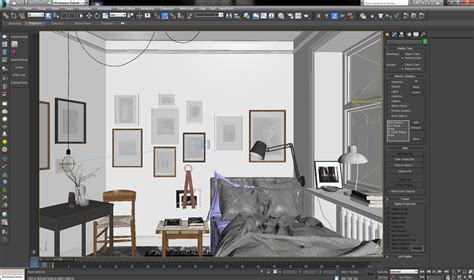 making of cosy bedroom scene evermotion making of cosy bedroom tip of the week evermotion