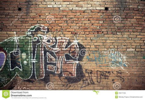 graffiti wall stock image image of weathered grafitti