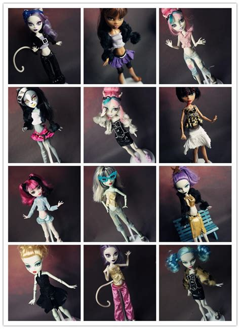 high doll clothes new 15pcs clothes shoes for high dolls lot casual