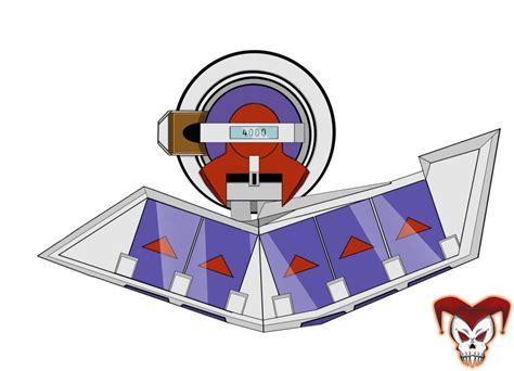 Yugioh Duel Disk Papercraft - yu gi oh duel disk by nex exe on deviantart
