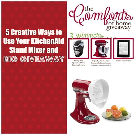 5 creative ways to use your kitchenaid stand mixer club