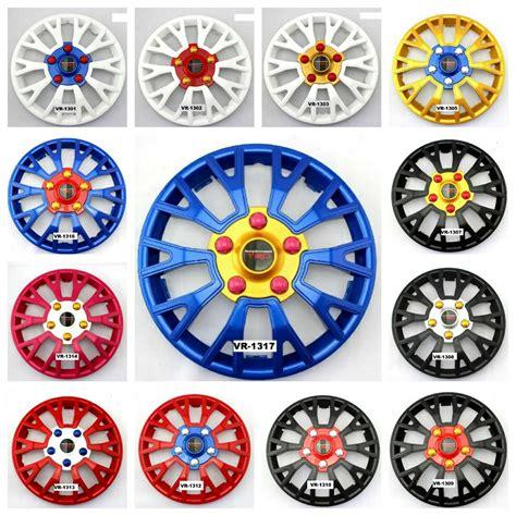 Dop Velg Ring 13 Inch Universal 1 jual dop velg velag veleg racing logo trd sportivo