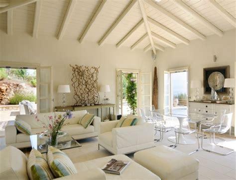 landhaus wohnzimmer modern 23 wohnideen f 252 r mediterrane einrichtung und garten gestaltung