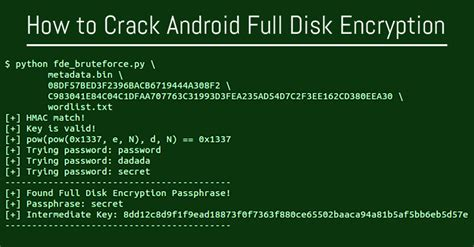 encryption for android techzhome how to android disk encryption