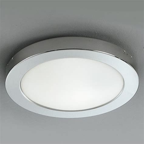 chrome and opal glass flush fitting bathroom ceiling light ip44 franklite small 160mm dia opal glass chrome flush light ip54 bathroom ceiling fitting
