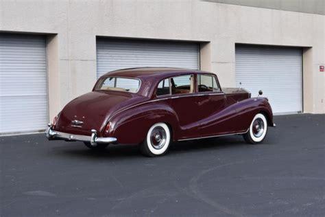 roll royce burgundy 1956 rolls royce silver wraith touring limousine 1