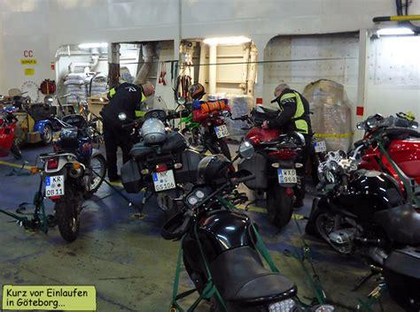 Mit Dem Motorrad Nach Schweden by Motorradtour Nach Gotland Schweden