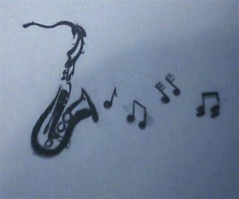 saxophone tattoo ideas interest on tattoos