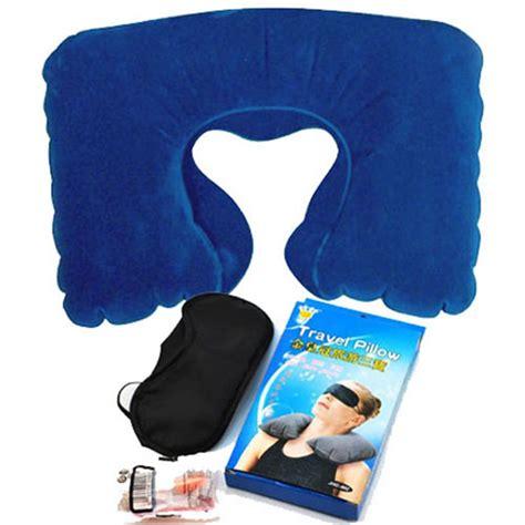 The Luxe Travel Pillow U Neck Blue u neck pillow travel pillow flight car pillow pillow neck u rest air cushion eye